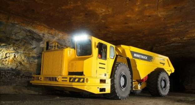 Underground Mine Haul Trucks Fuel Consumption